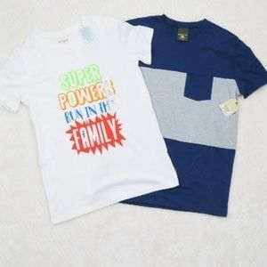 Boys XL Casual Tee Lot Short Sleeve T-Shirt Spring